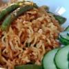 simple hoisin noodles