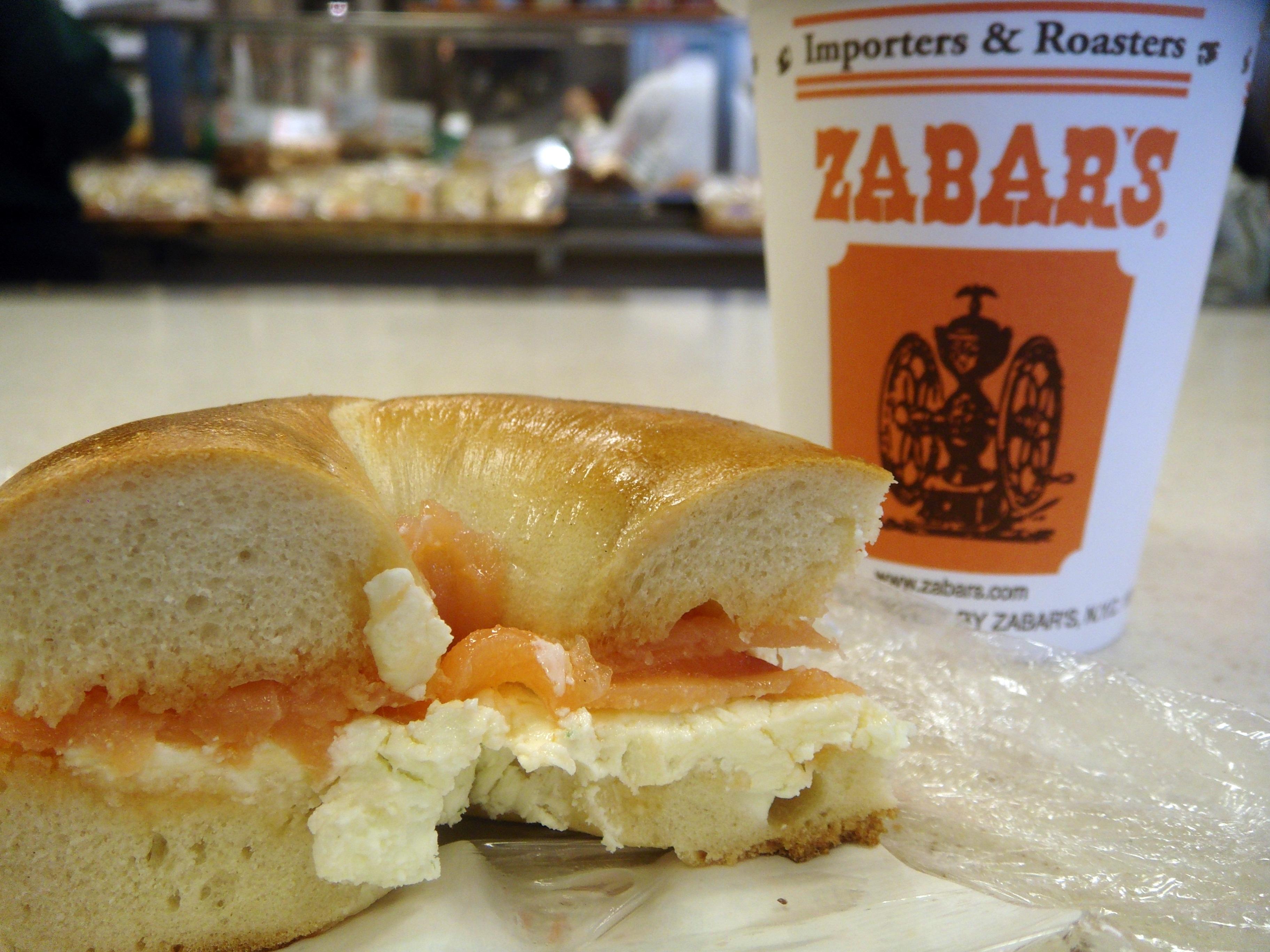 Zabar's Bagel + Lox