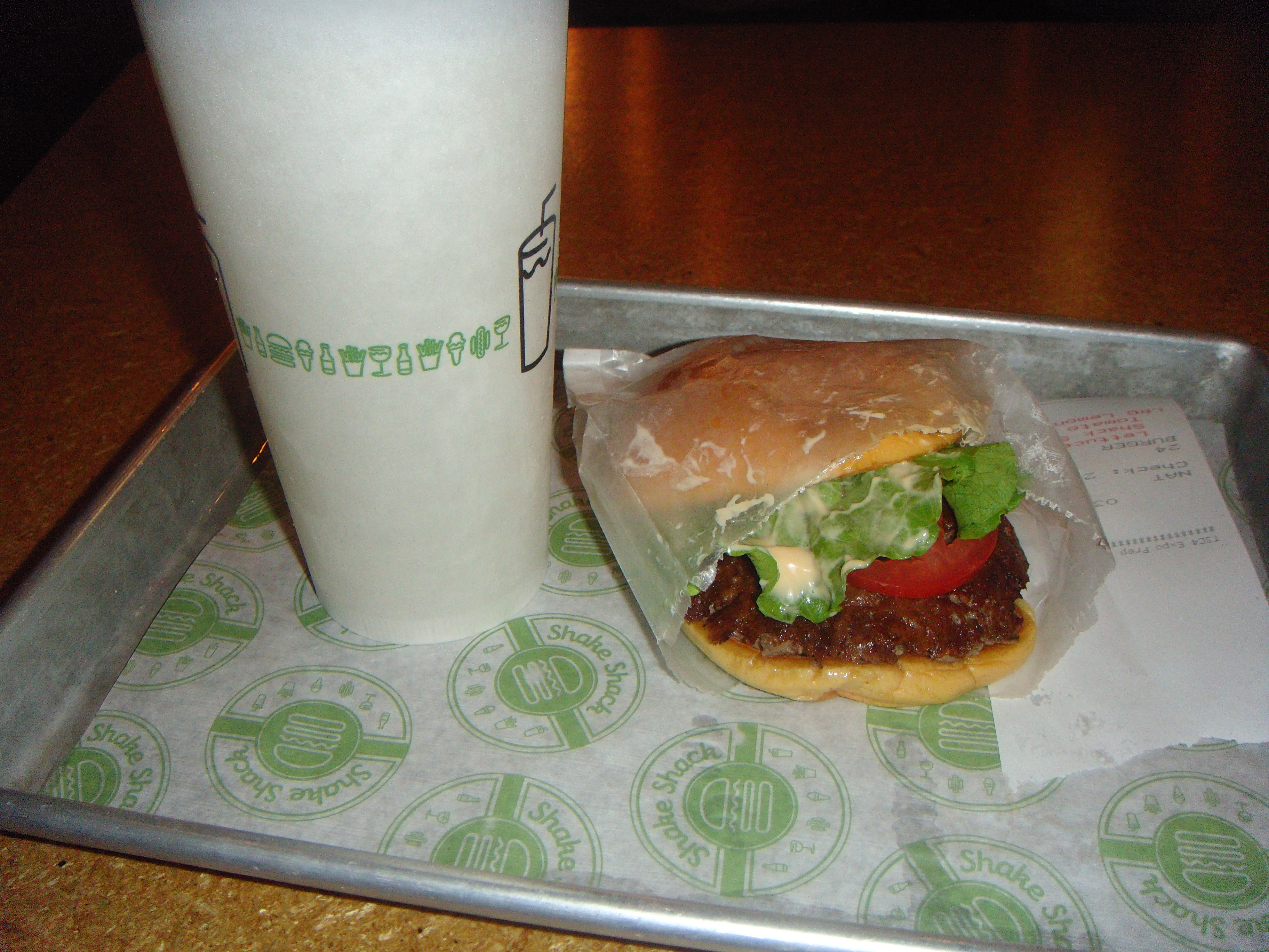 Shake Shack - Burger + Drink