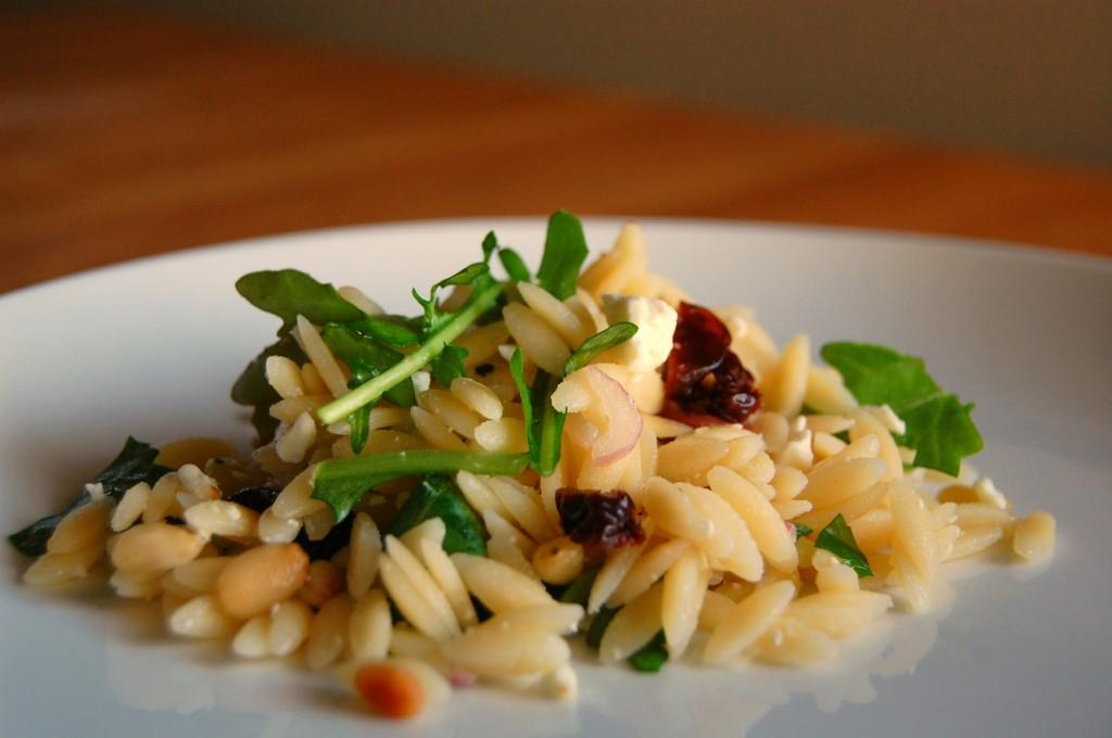 orzo salad arugula 9934