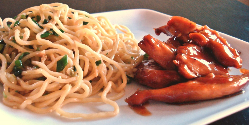 teriyaki chicken noodles