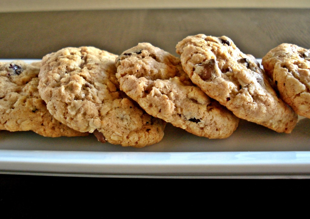 oatmeal cherry cookie