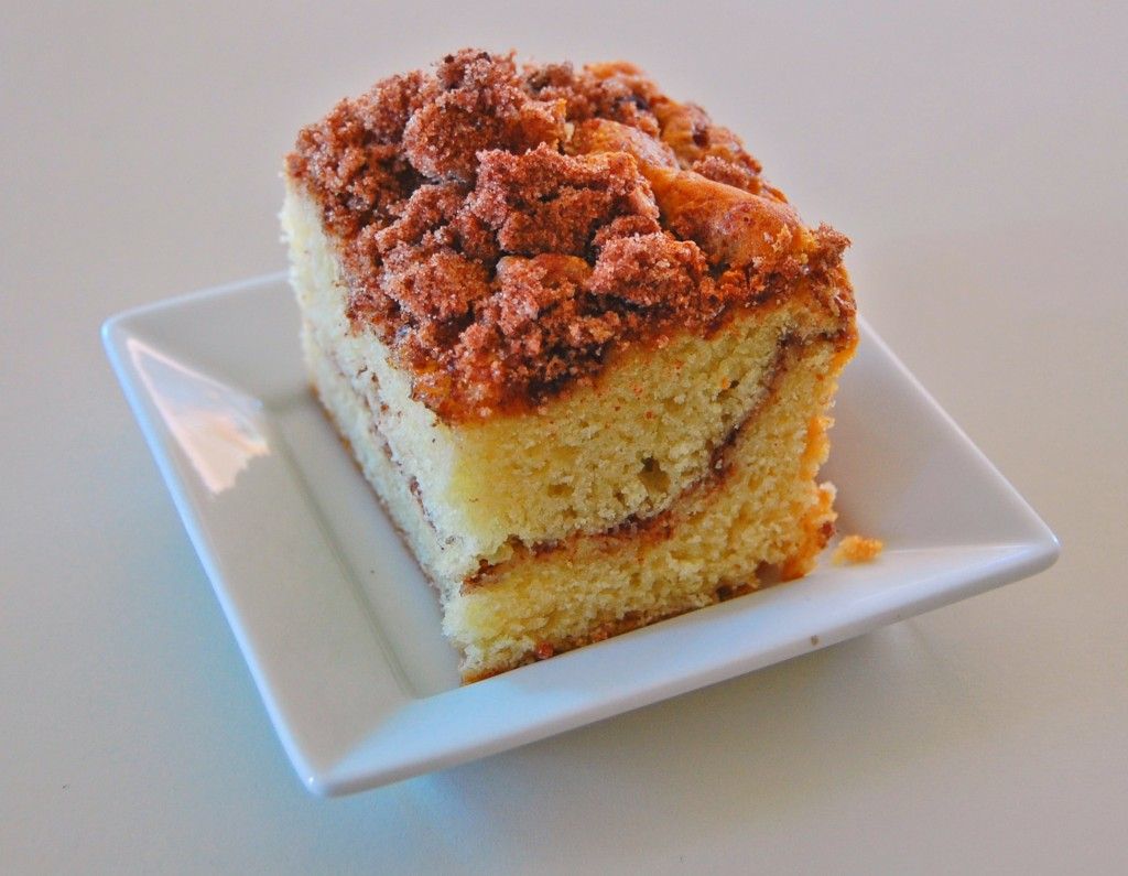 Sour Cream Coffee Cake | wee eats