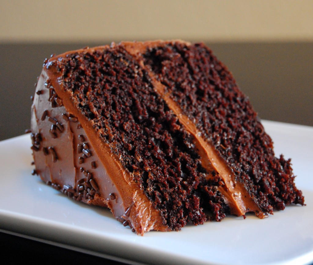 doublt dark chocolate cake