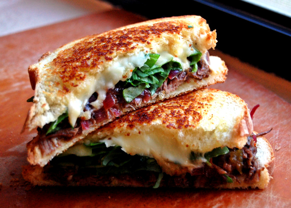 grilled cheese and short rib grilled cheese short rib awesome sandwich ...