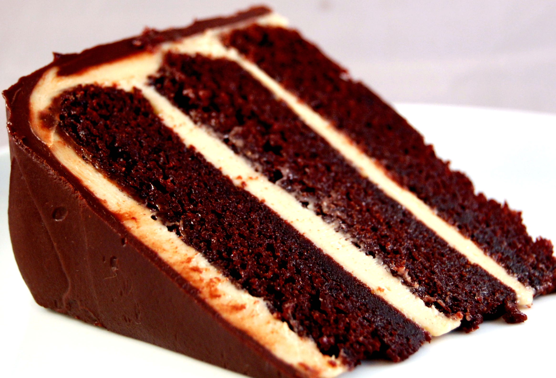 cake dark chocolate cake with chocolate ganache frosting chocolate ...