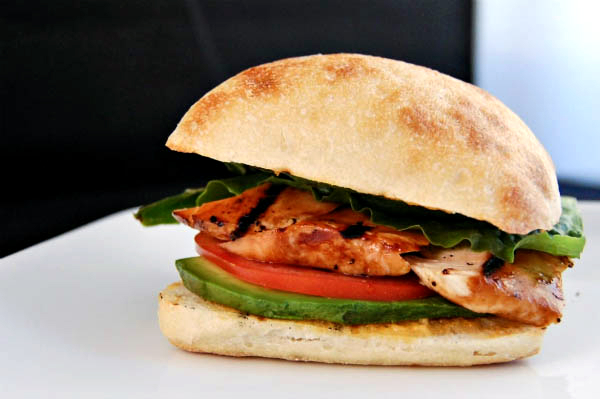 teriyaki chicken sandwich