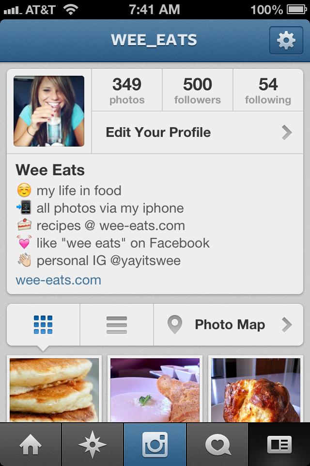 follow @wee_eats on instagram!