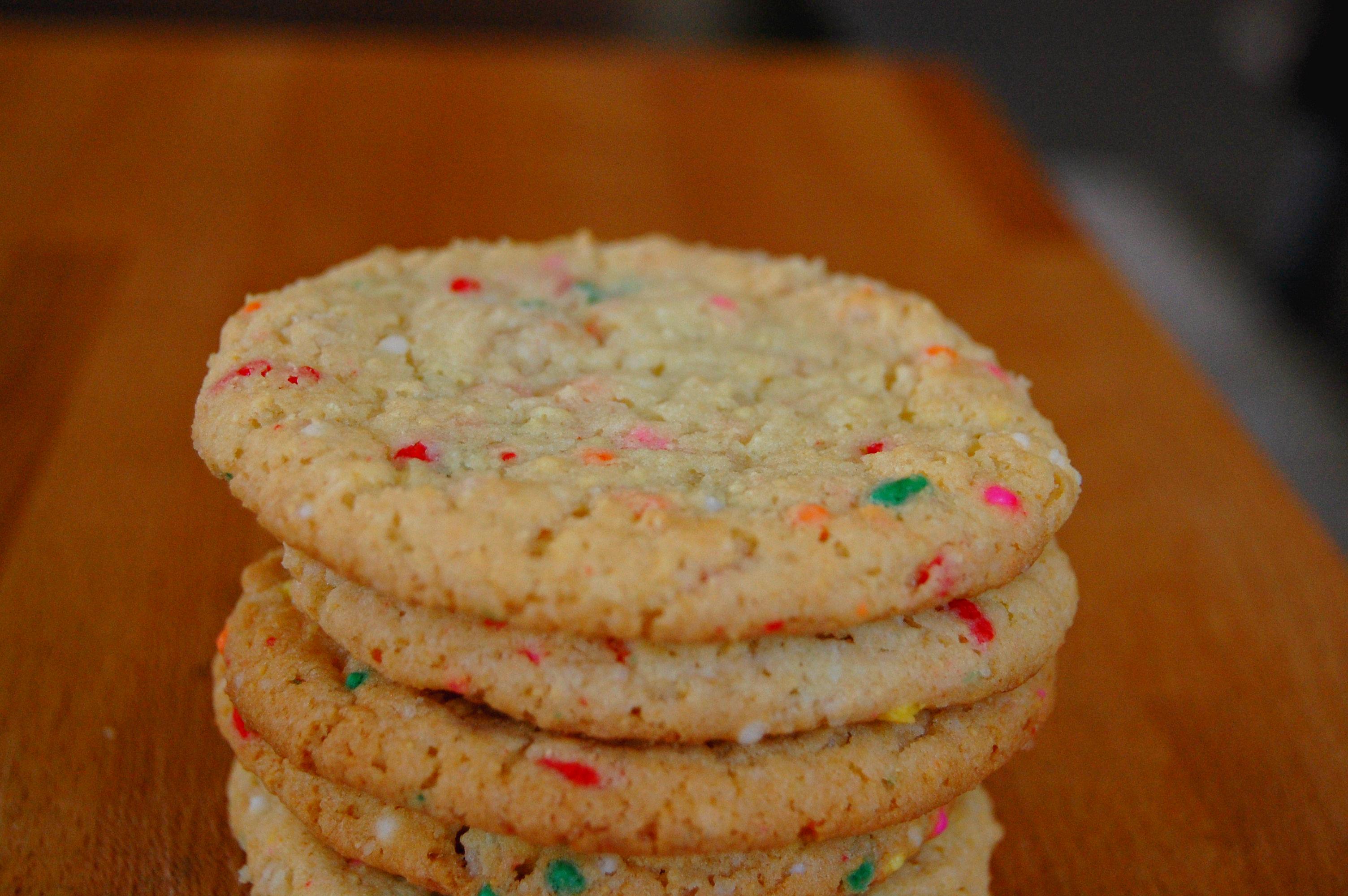 confetti cookie 8403