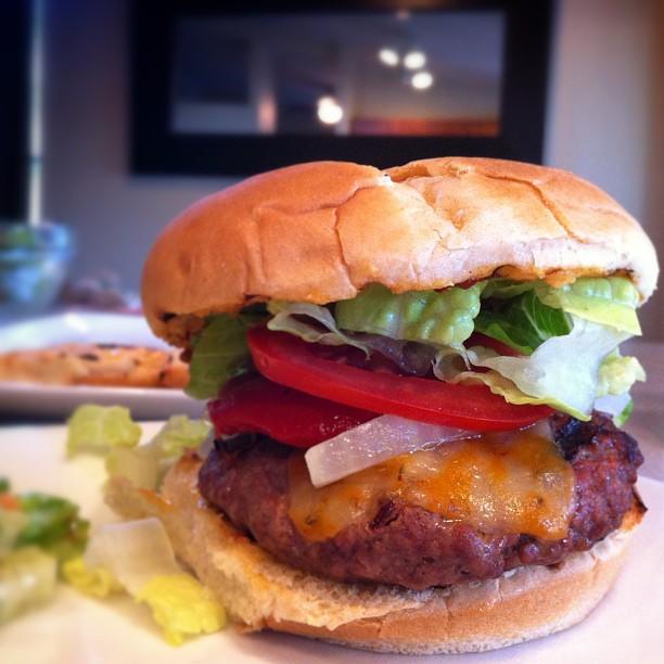 chipotle burger instagram