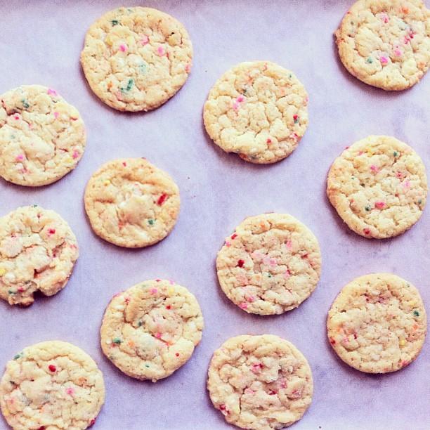 confetti cookie instagram