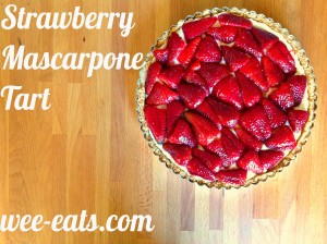strawberry tart 1 pin