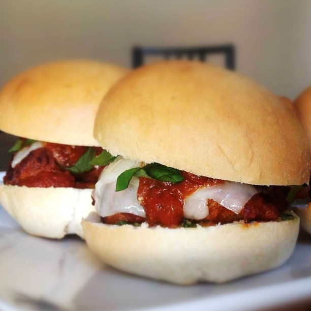 meatball slider instagram