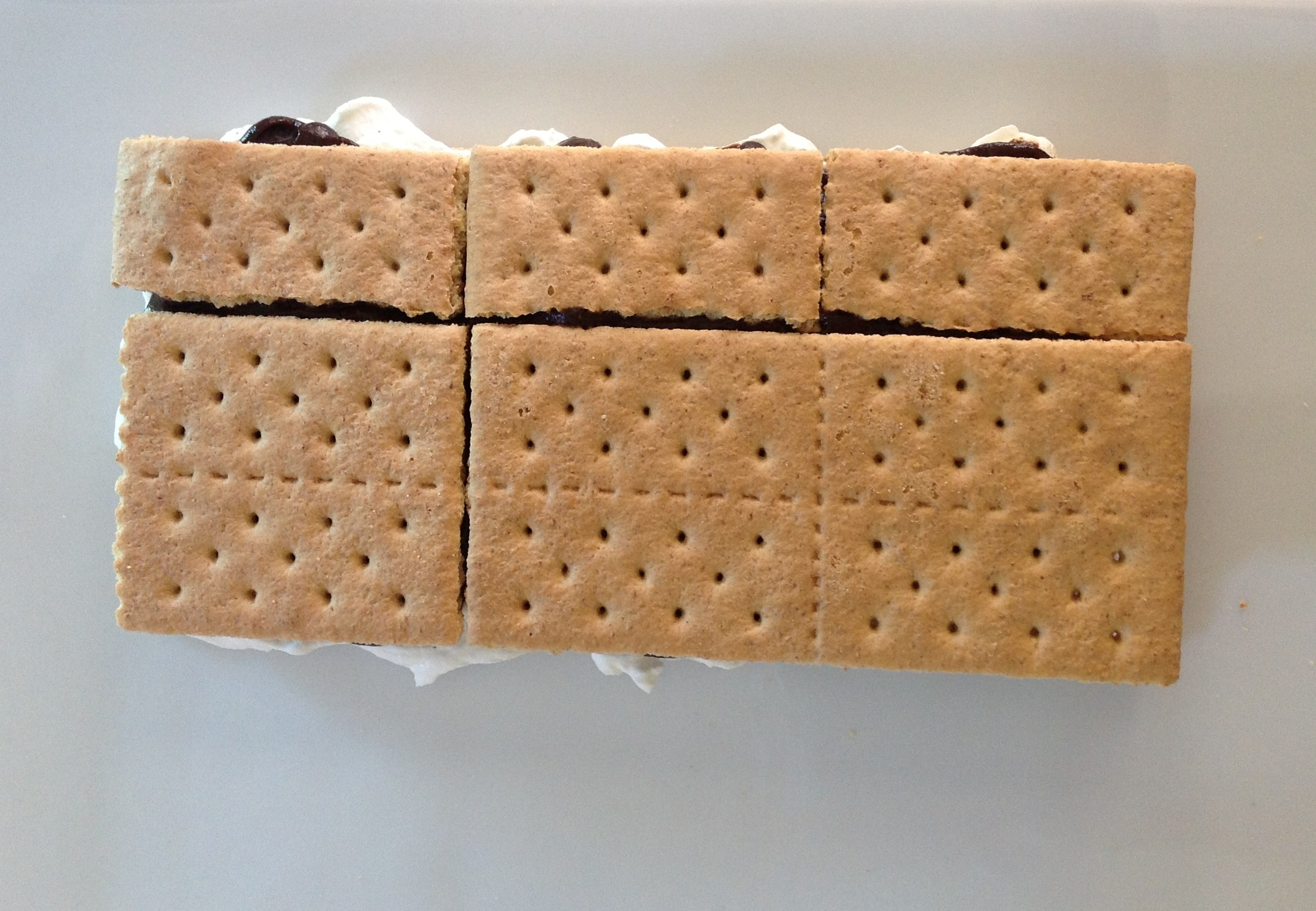 smore cake layer 1