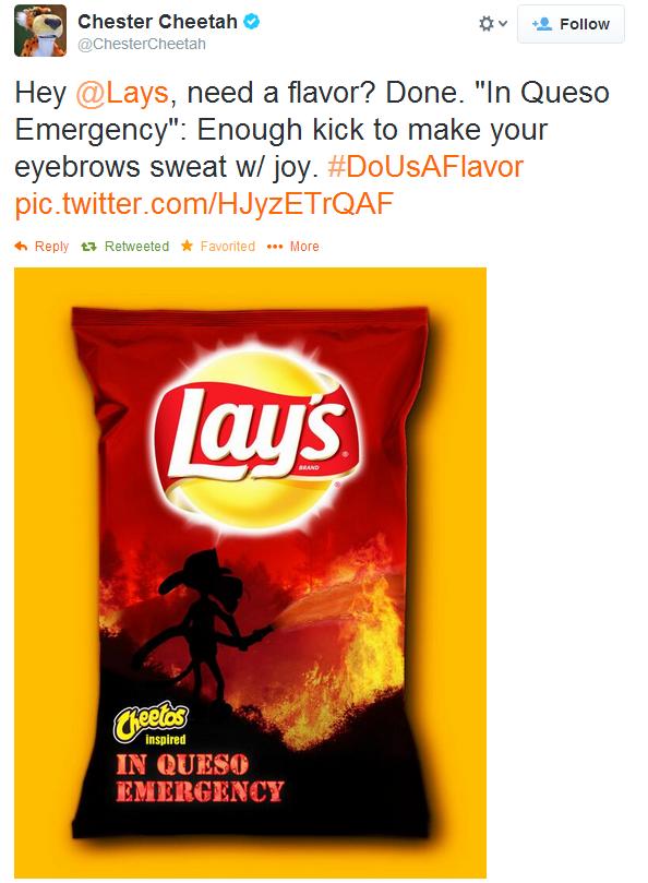 cheetos tweet