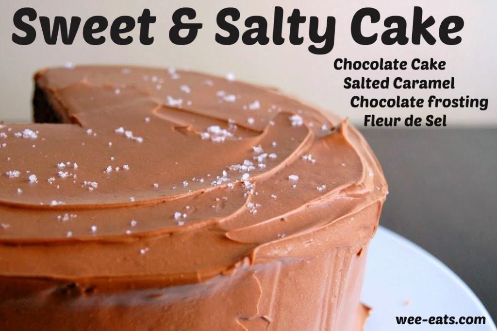 sweet & salty cake | wee-eats.com