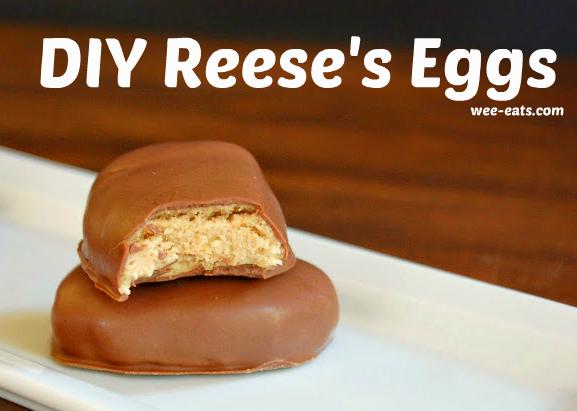 DIY Reese's Eggs | wee-eats.com