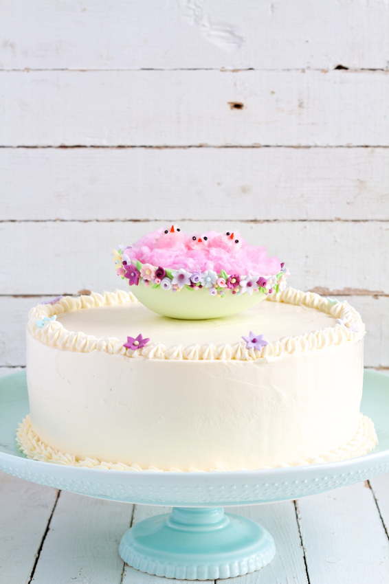 swiss-meringue-buttercream-easter-cake