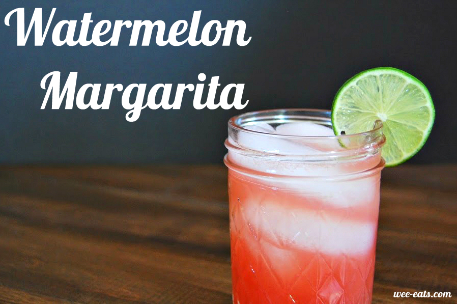 watermelon margarita - wee-eats.com