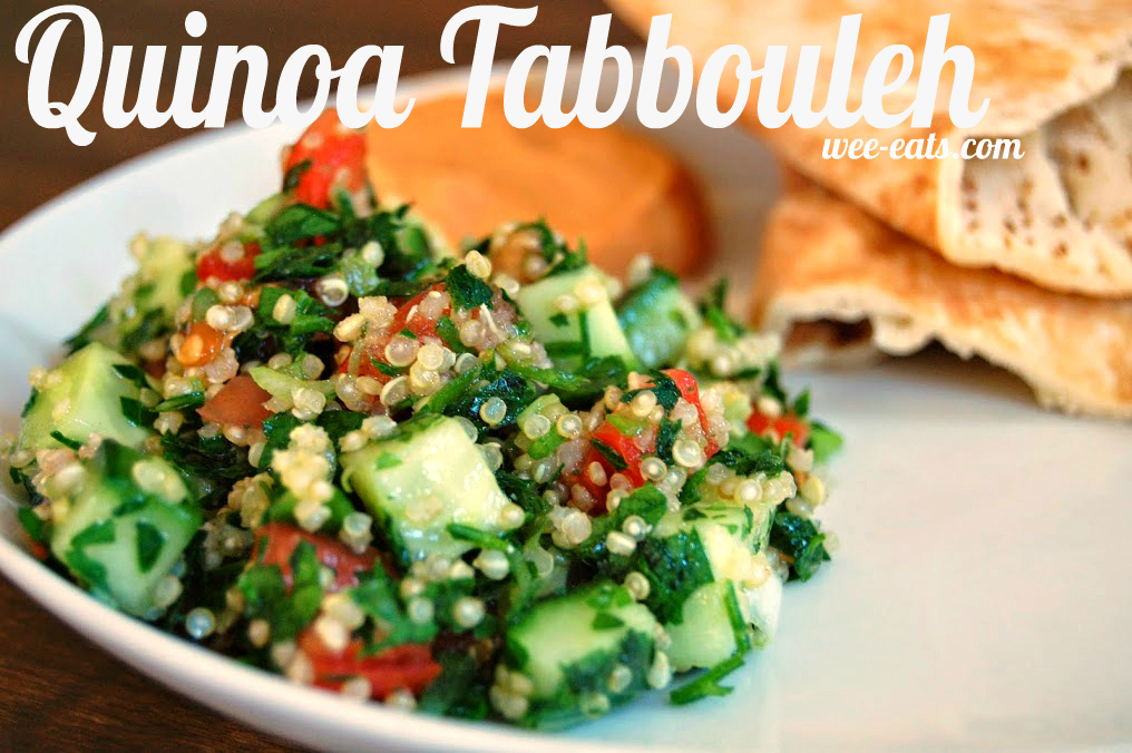quinoa tabbouleh - wee-eats.com