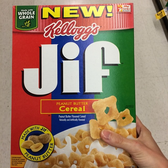 jif cereal