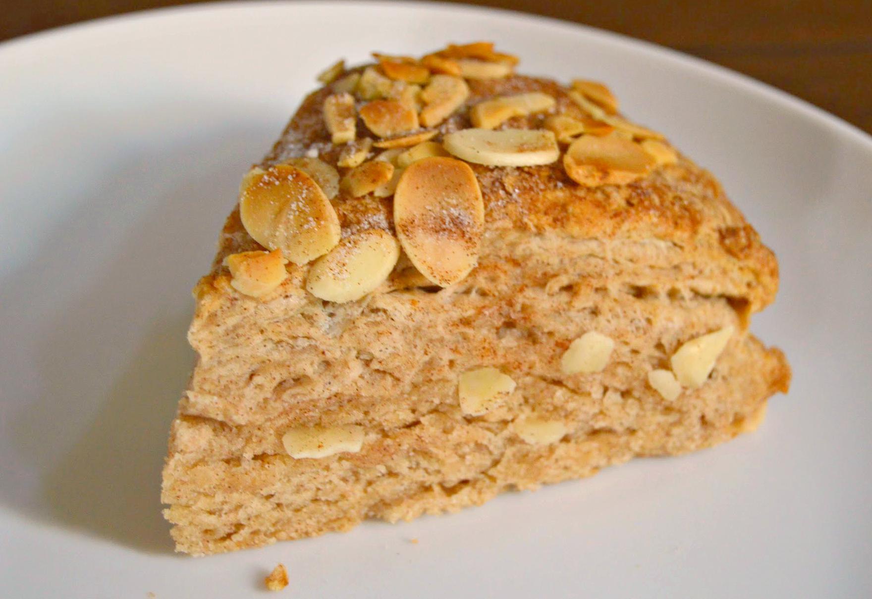 cinnamon almond scone 3 - wee eats
