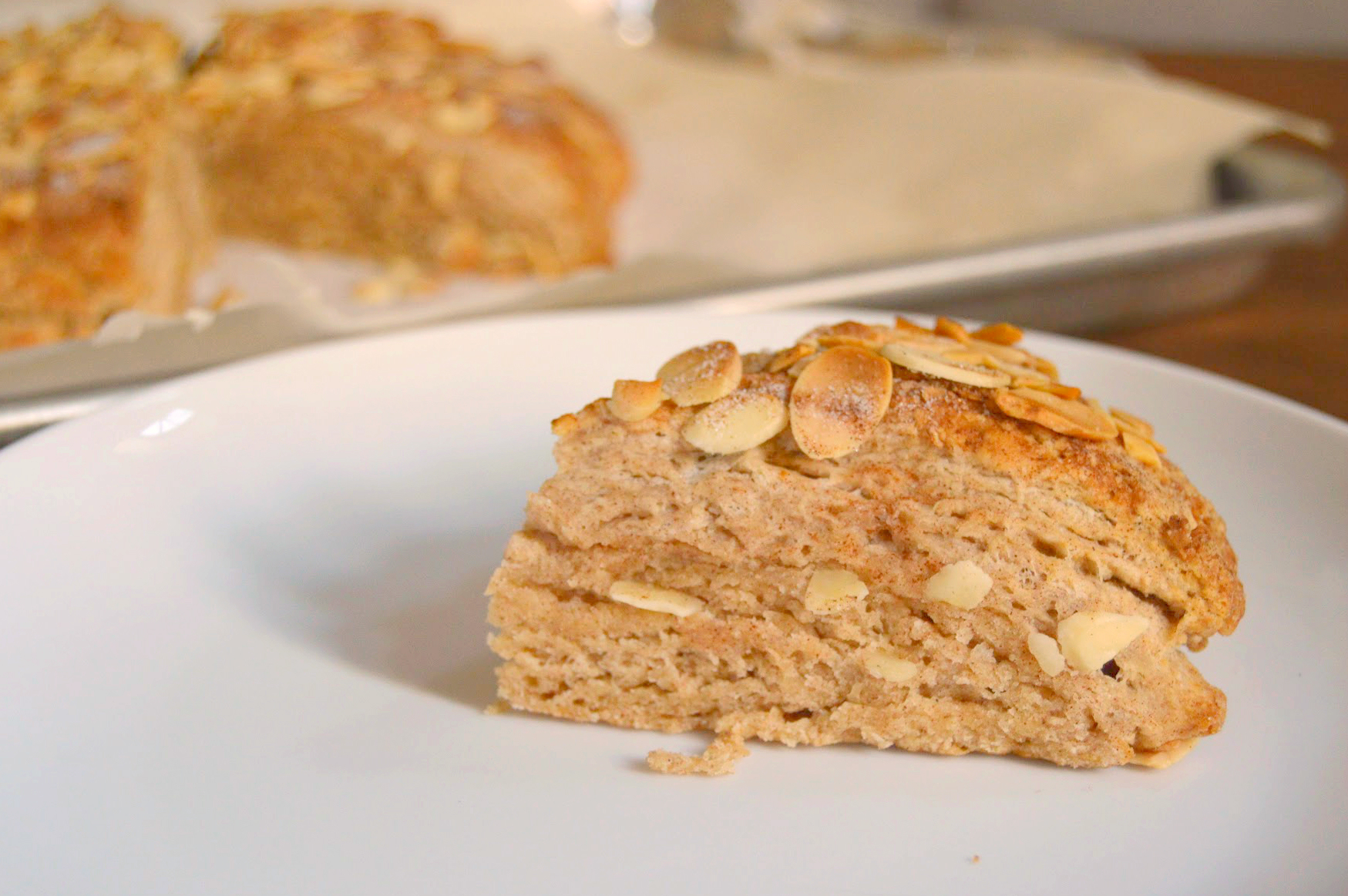 cinnamon almond scones 2 - wee eats