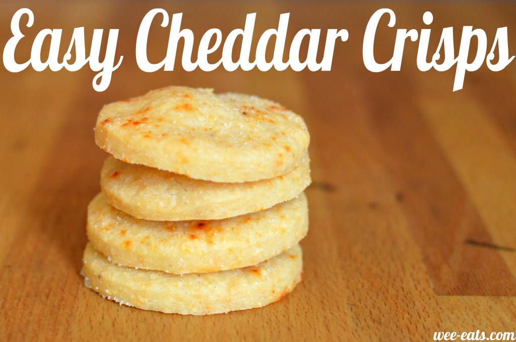 cheddar crisps - wee-eats
