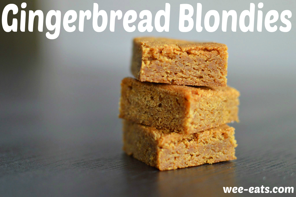 gingerbread blondies pin
