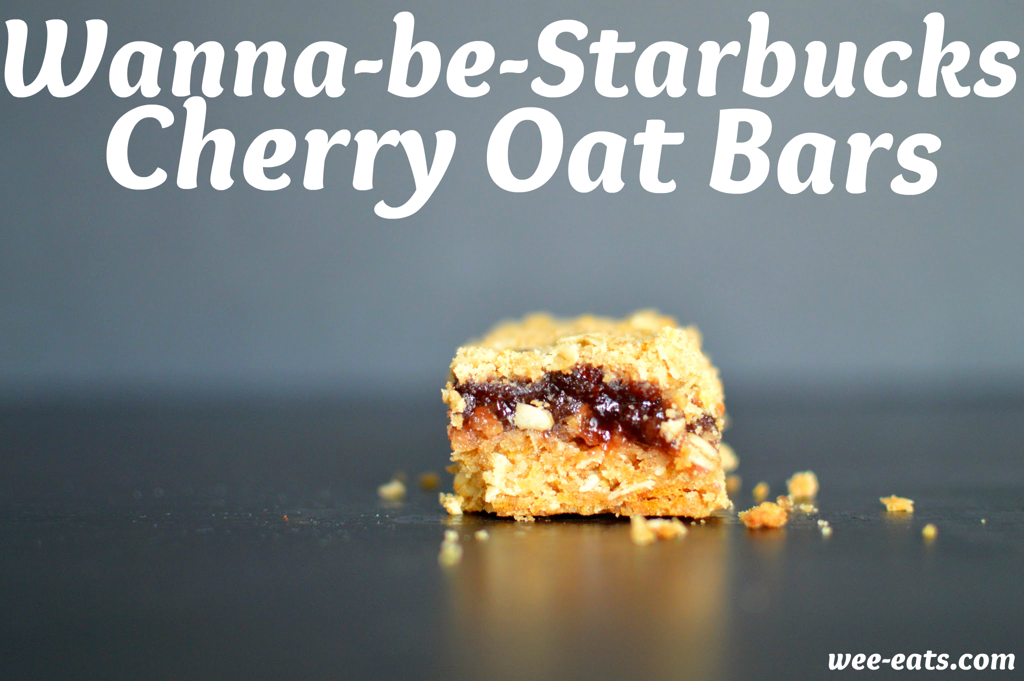 Starbucks Cherry Oat Bars | Wee-Eats.com