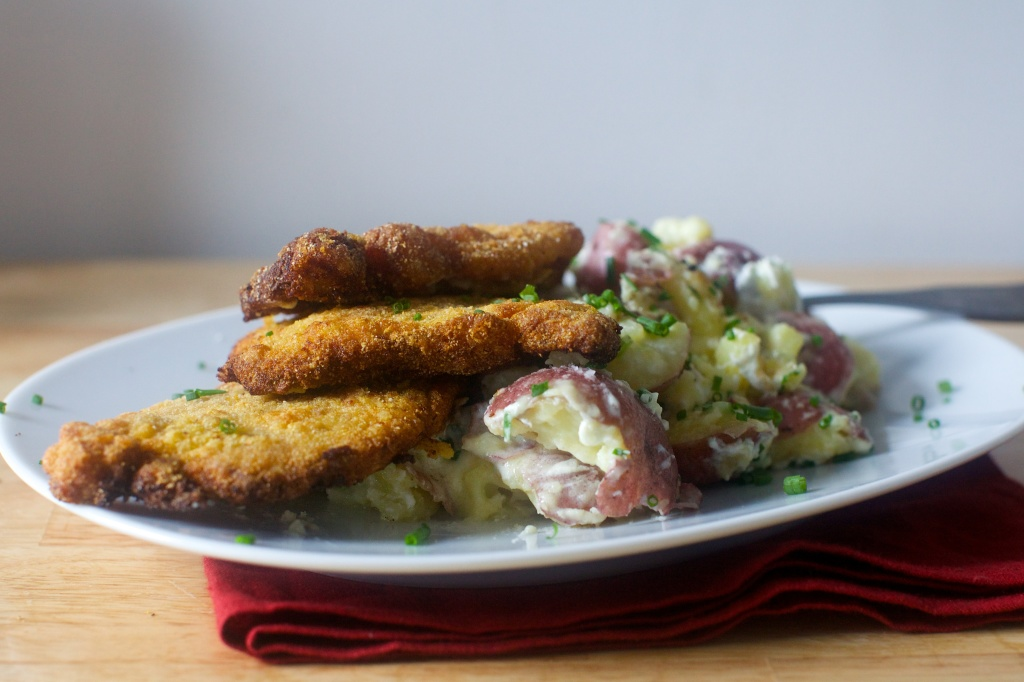 cornmeal-fried-pork-chops-and-goat-cheese-smashed-potatoes