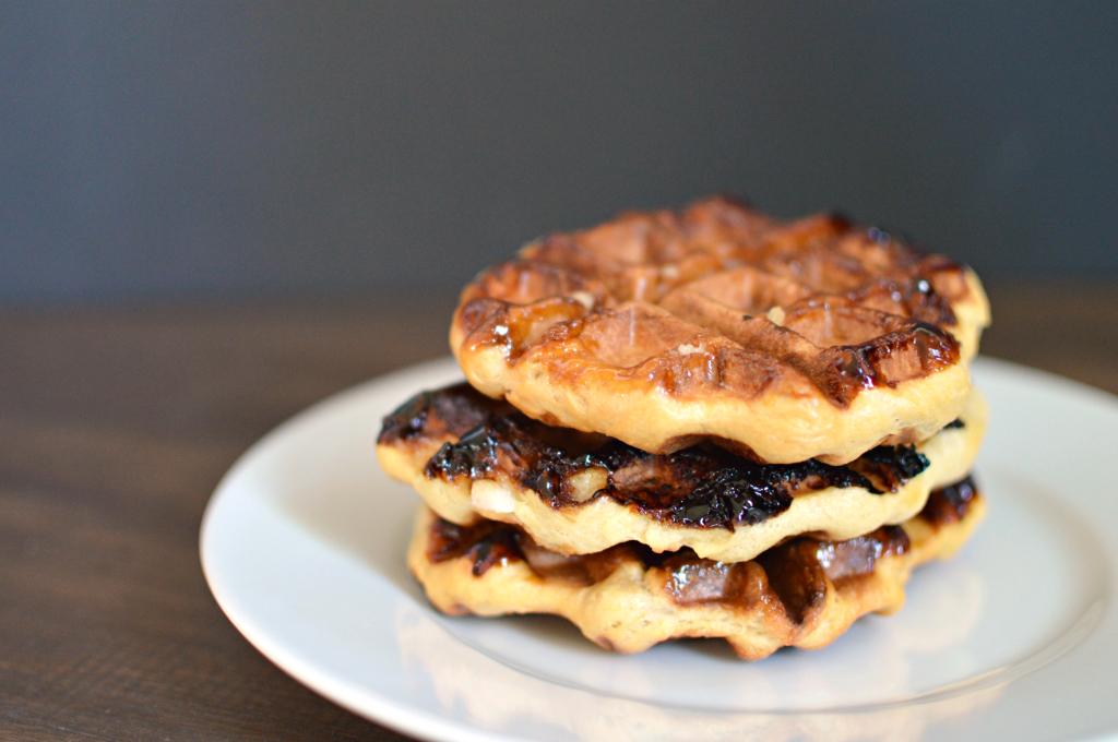 Liege waffles are like not like those waffles you had for breakfast ...