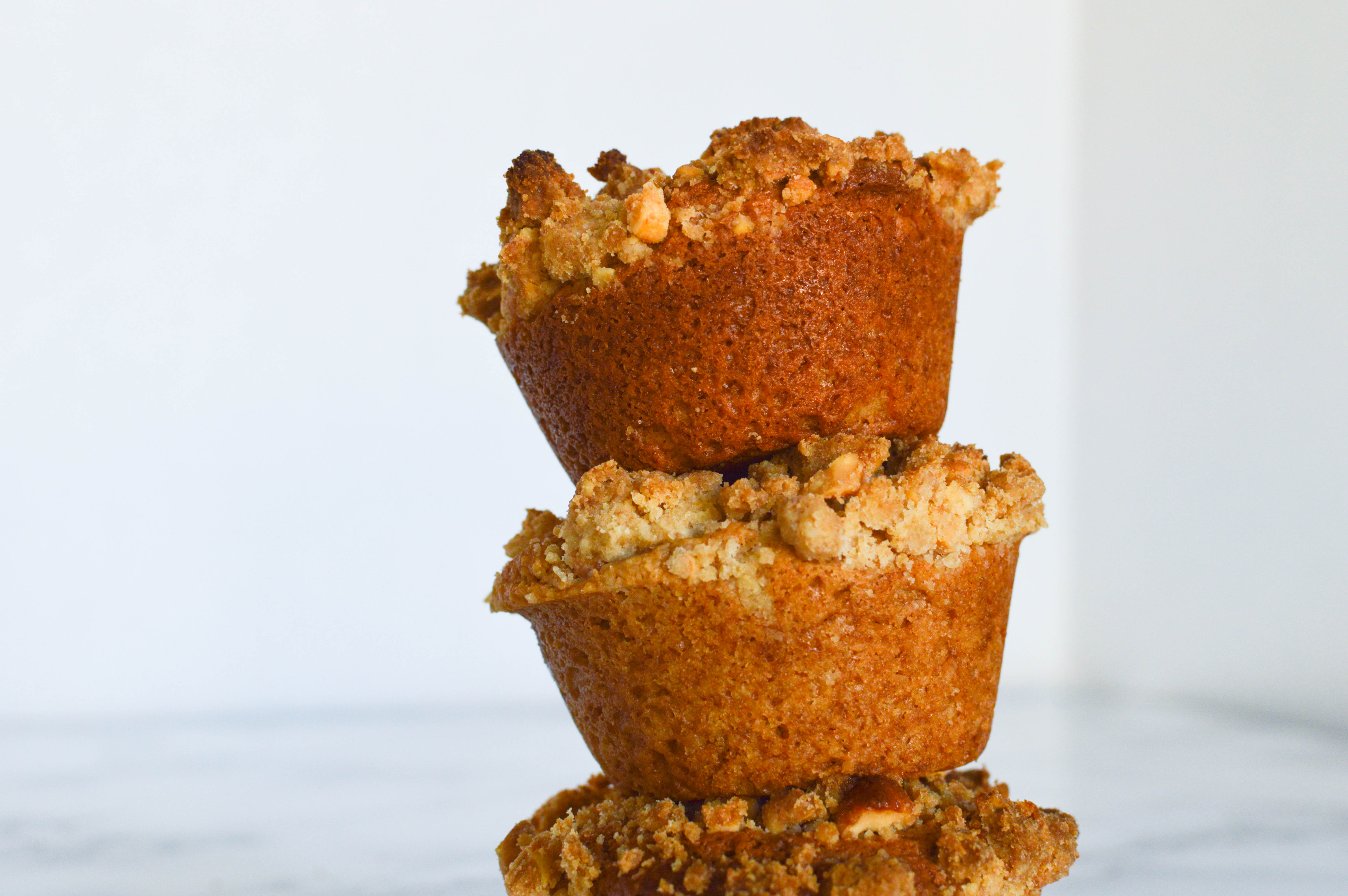 baked occasionally peanut butter jelly muffins | wee eats